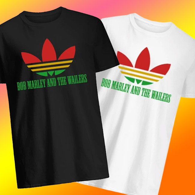 Official Adidas Bob Marley And The Wailers shirt