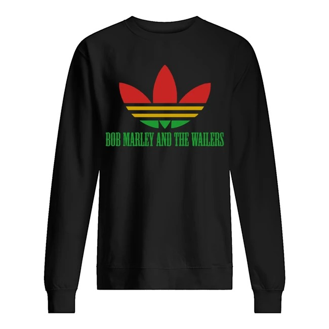 Official Adidas Bob Marley And The Wailers sweater