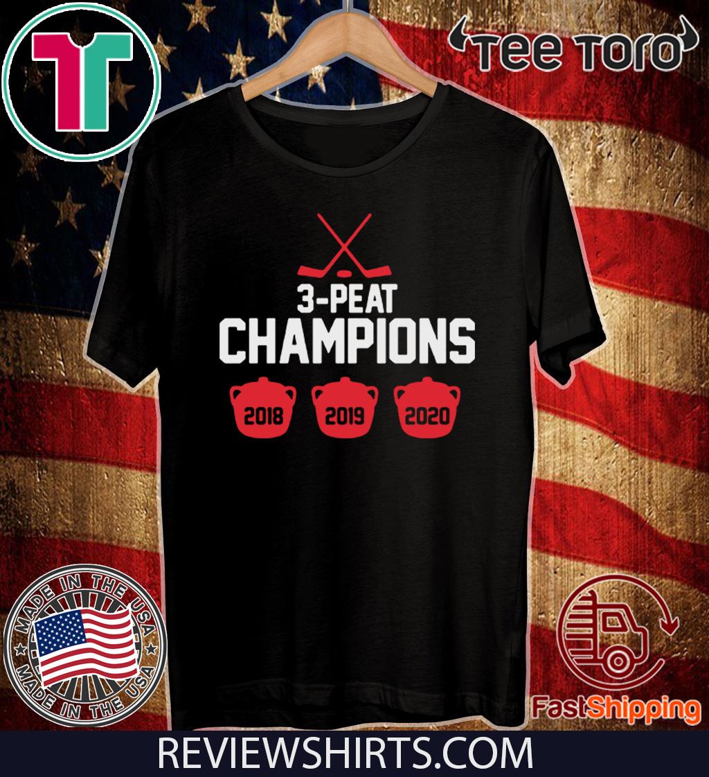 3-Peat Champs 2020 T-Shirt