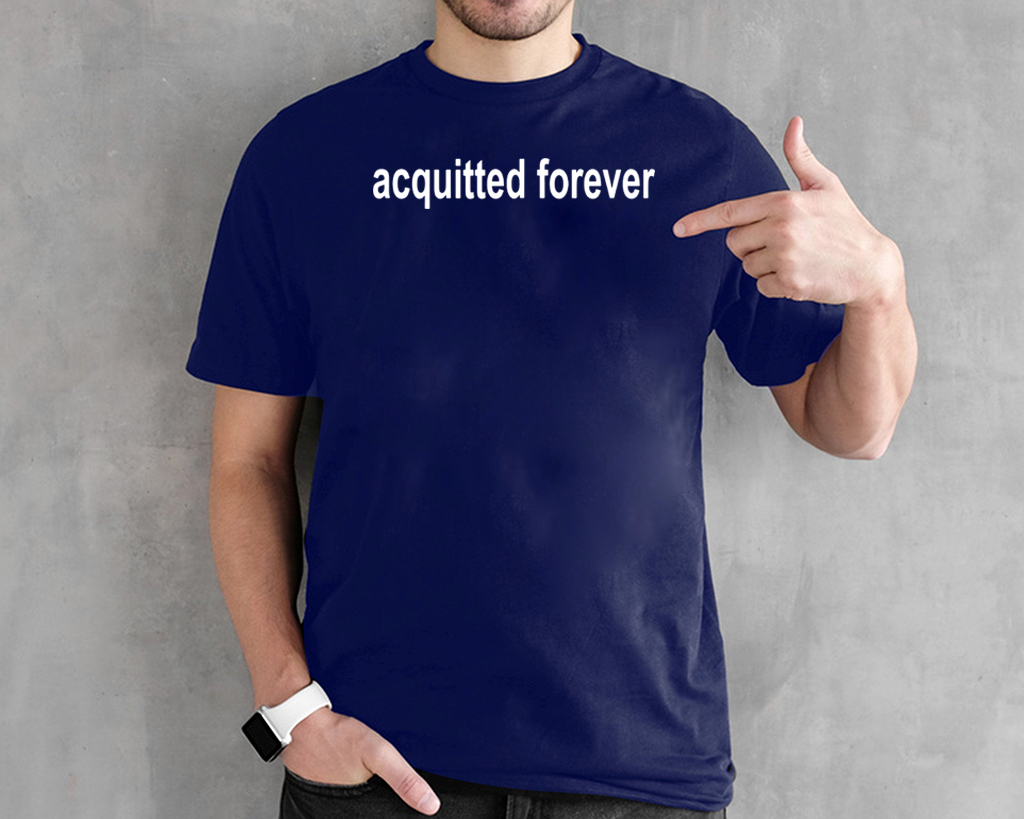 Acquitted Forever Donald Trump 2020 T-Shirt