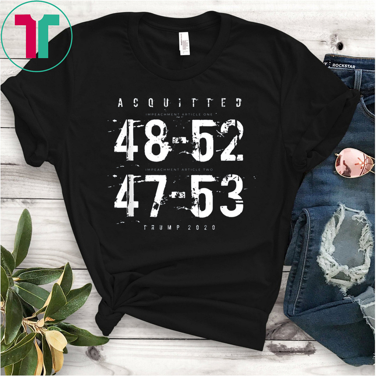 Acquitted Trump 2020 T-Shirt