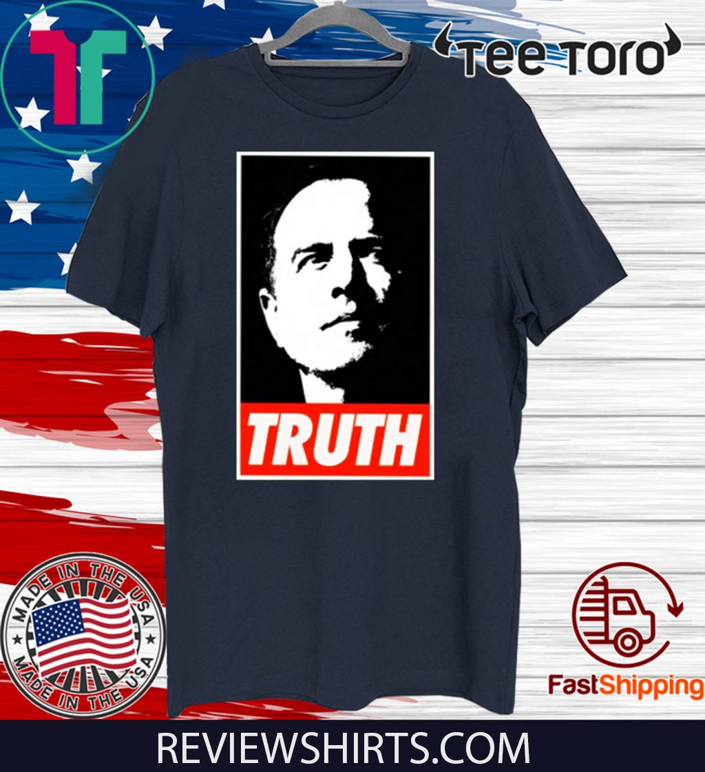 Adam Schiff Truth Official T-Shirt