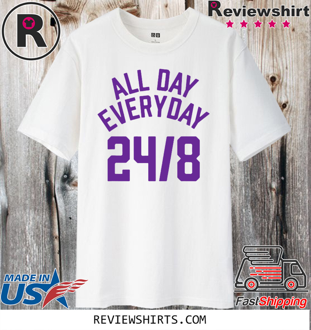 All Day Everyday 248 Hoops Legend 2020 T-Shirt