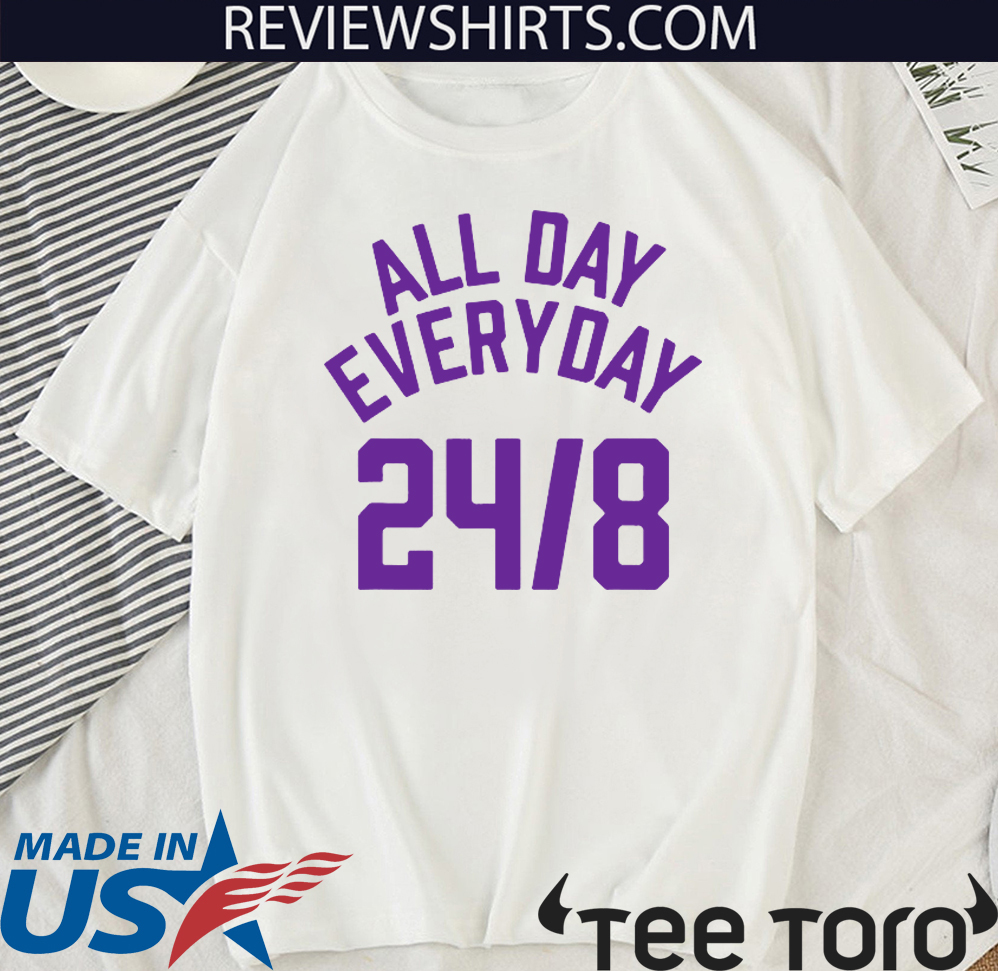 All Day Everyday 248 Hoops Legend Official T-Shirt