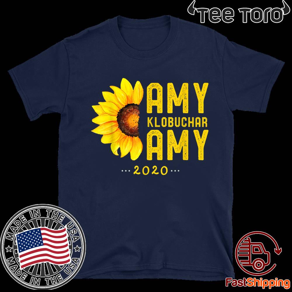 Amy Klobuchar 2020 Vintage Amy For President 2020 T-Shirt