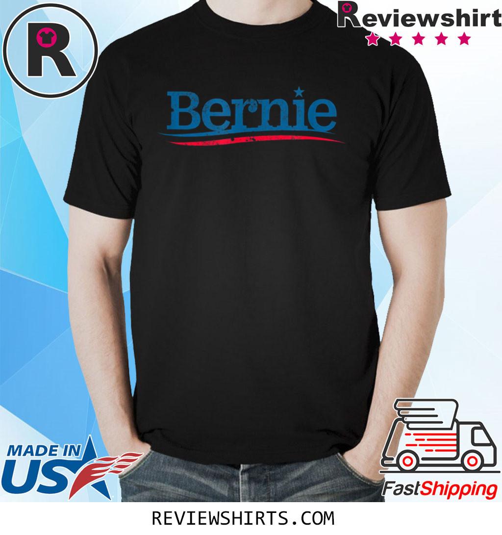 Bernie Logo Vintage Distressed Look Bern Sanders 2020 T-Shirt