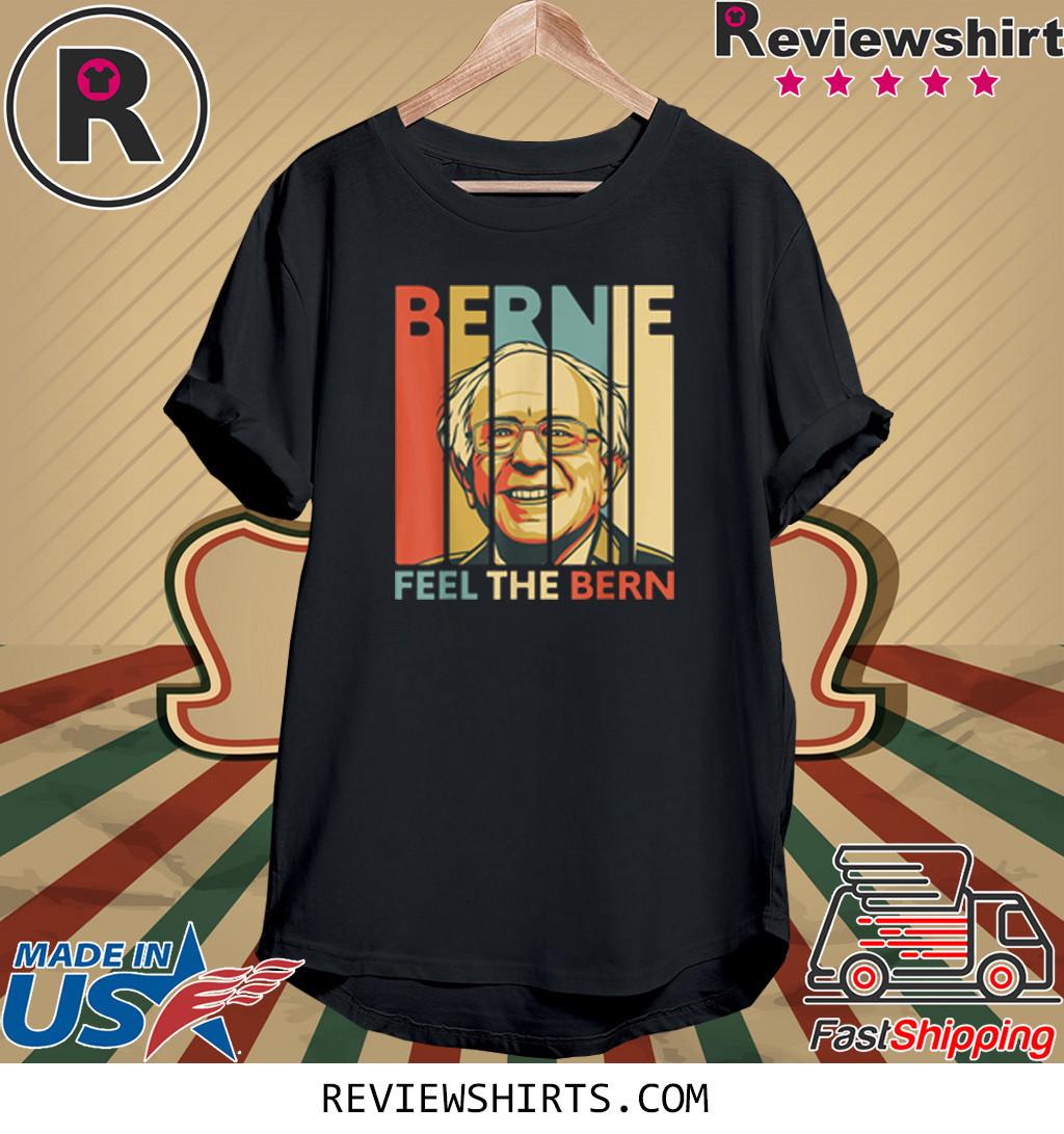 Vintage Bernie Sanders Feel The Bern Vintage Retro Bernie 2020 Shirt