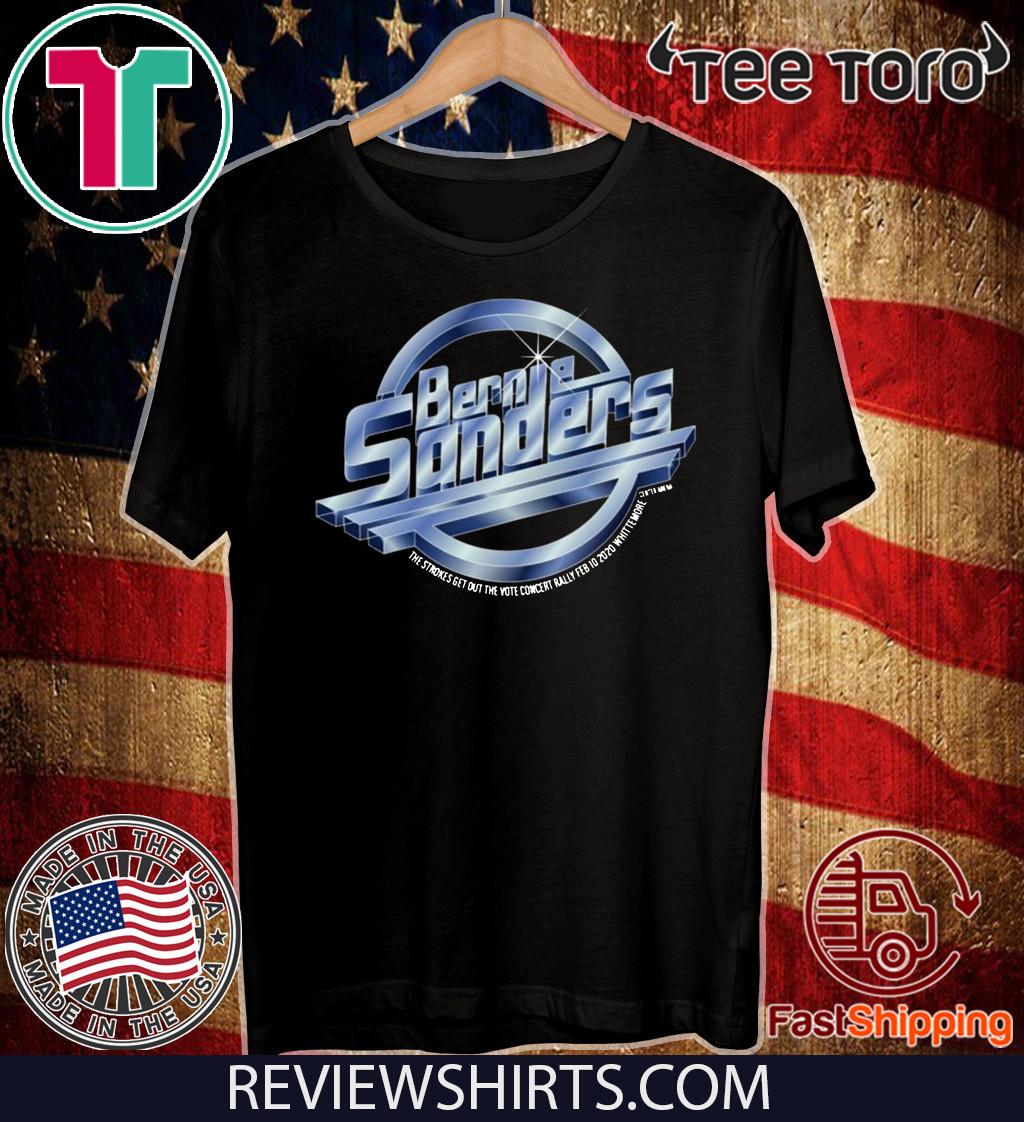Bernie Sanders The Strokes Tee Shirt