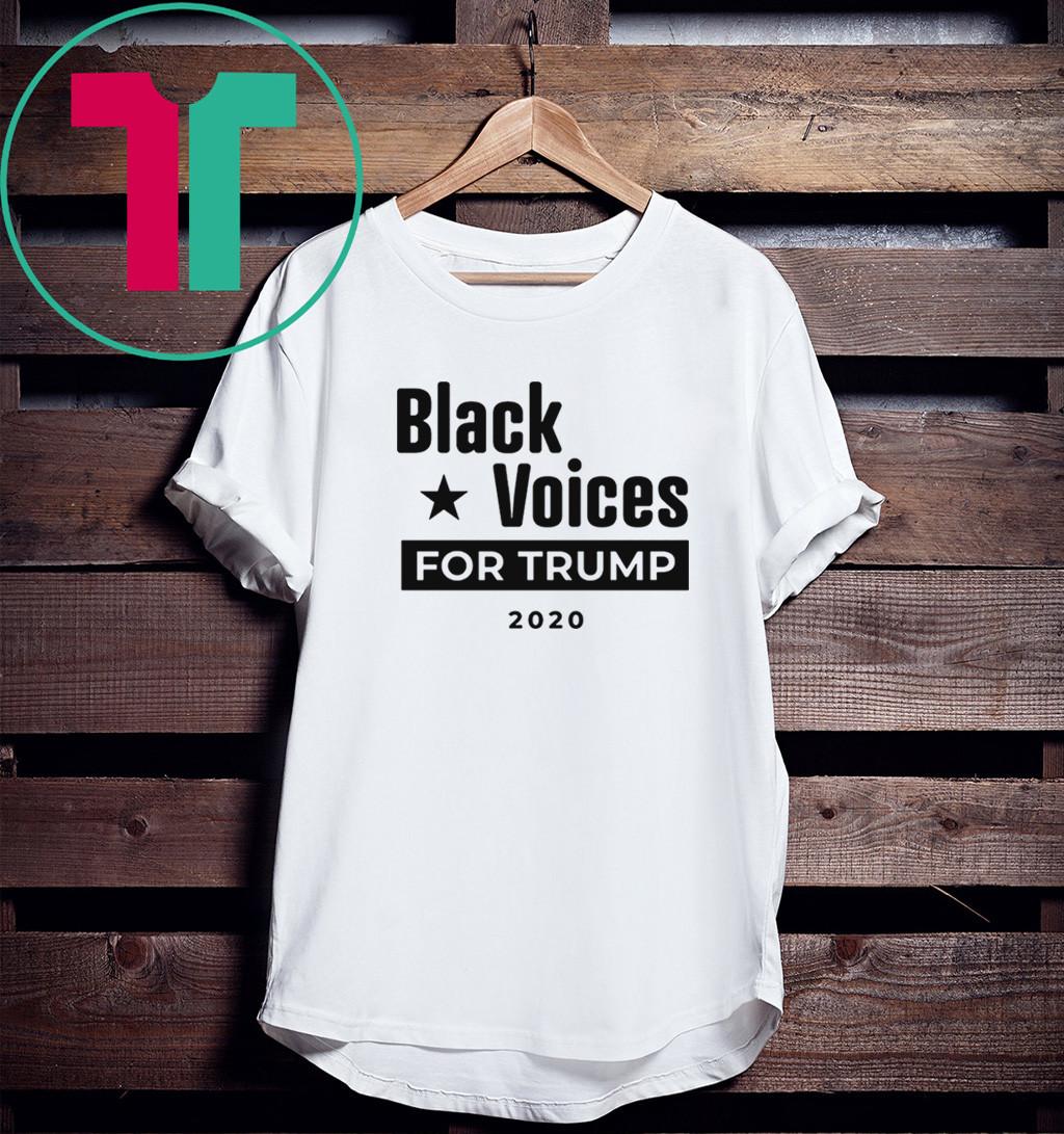 Black Voices For Donald Trump T-Shirt
