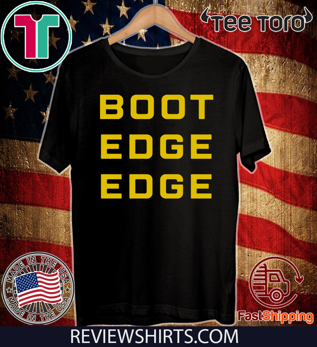 Boot Edge Edge Pete Buttigieg Official T-Shirt