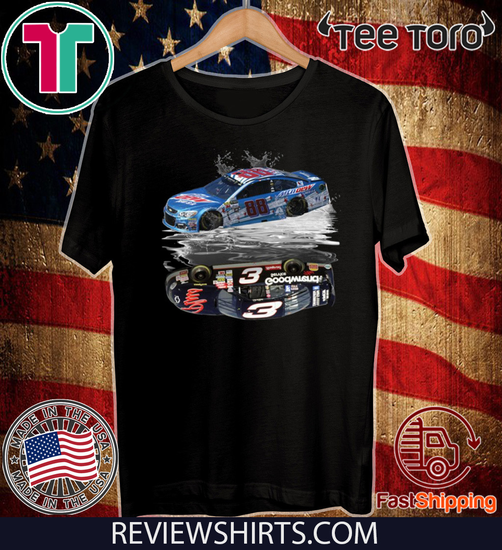 Dale Earnhardt Jr 88 reflection SR 3 2020 T-Shirt