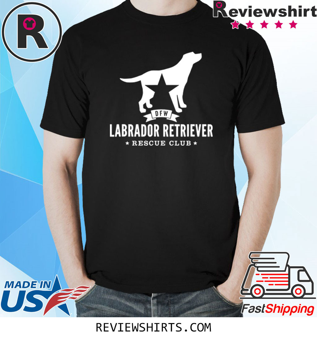 DFW Labrador Retriever Rescue Club White Logo Shirt