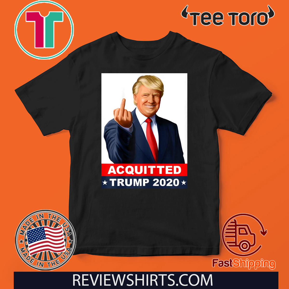 Trump Acquitted Anti-Impeachment Acquittal Victory Pro-Trump Shirt