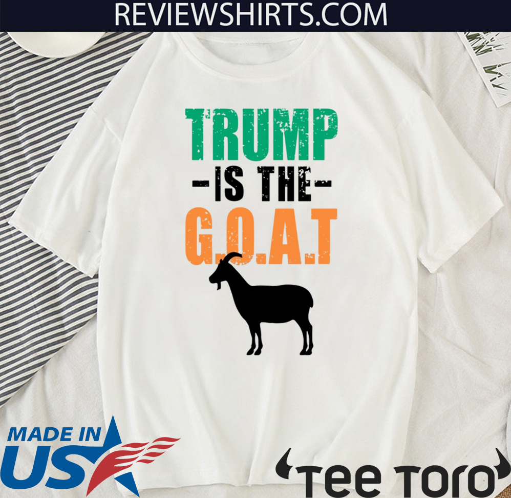 Donald Trump Is The Goat MMA Shirt