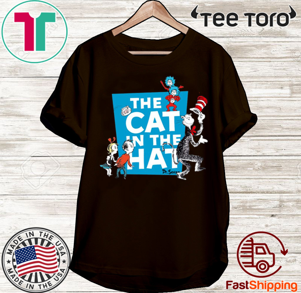 DR. SEUSS THE CAT IN THE HAT T-SHIRT