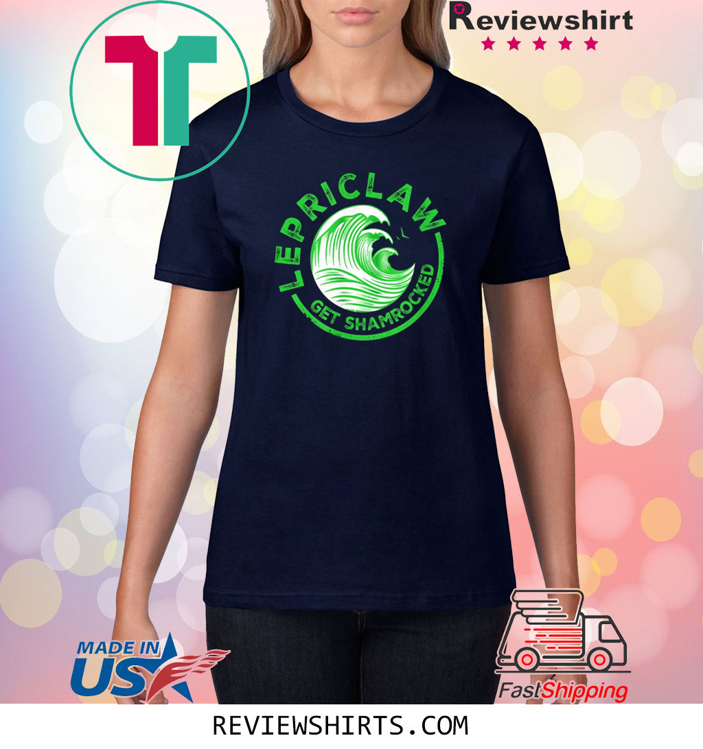 Drinking Claw Lepriclaw Get Shamrocked T-Shirt