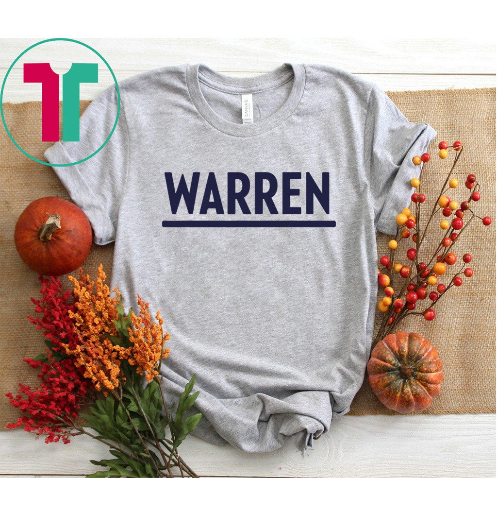Elizabeth Warren 2020 Presidential Election Democrat Woman Shirt