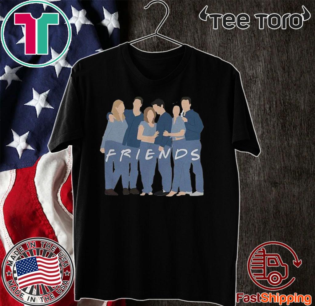Friends Couples Team T-Shirt