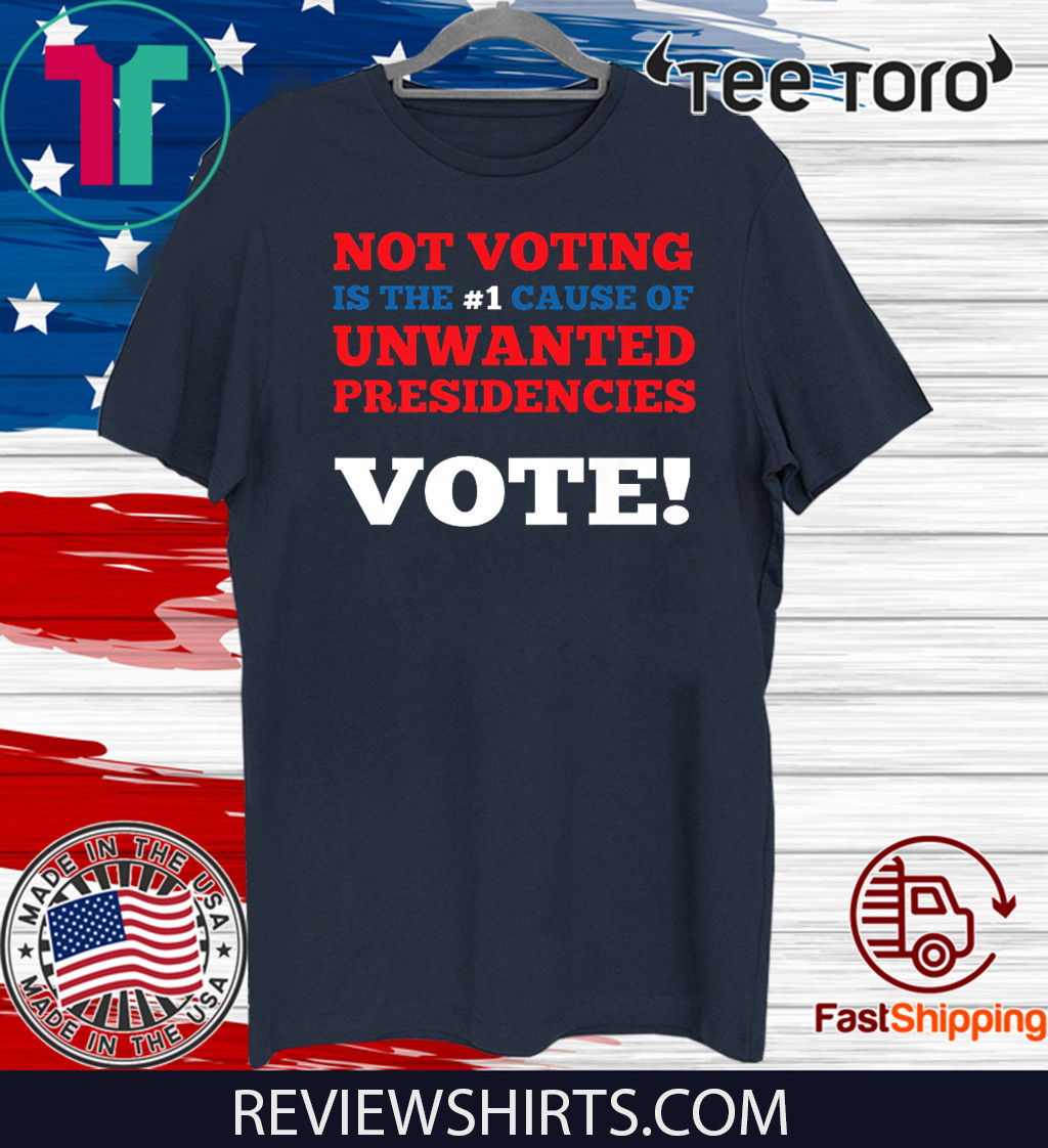 Presidential Race 2020 Funny And Sarcastic Voting 2020 T-Shirt