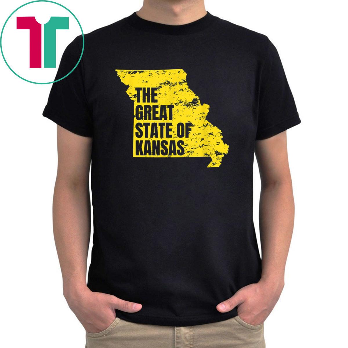 Great State of Kansas Trump Missouri Shirt