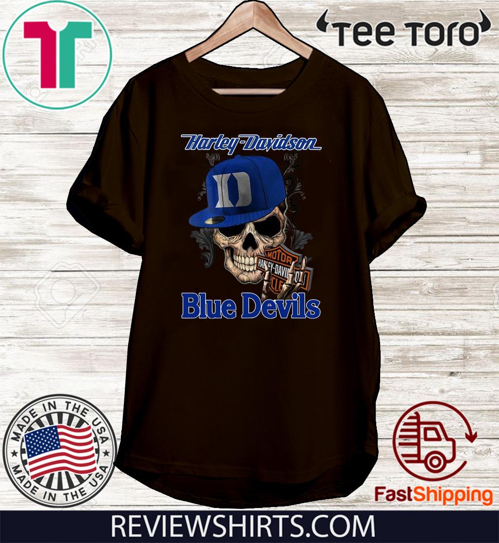 Harley Davidson Blue Devils Limited Edition T-Shirt
