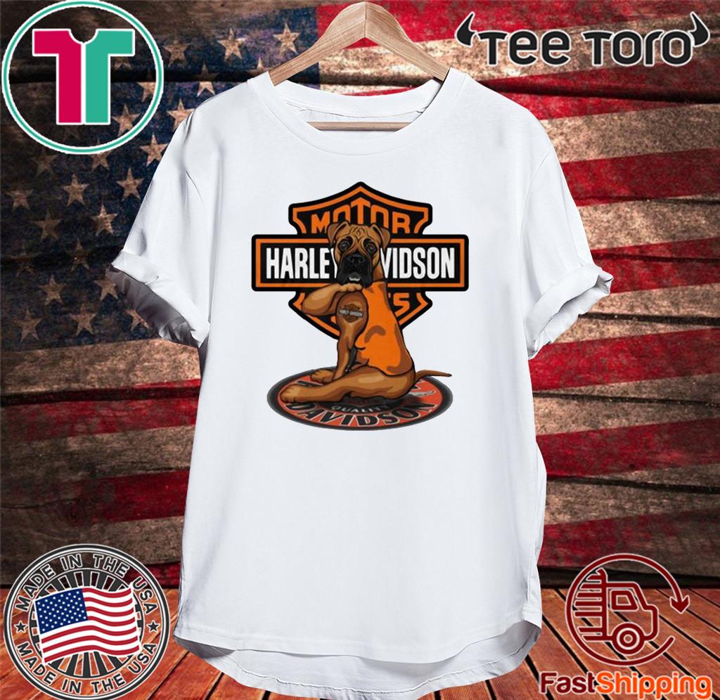 Harley Davidson Boxer Shirt