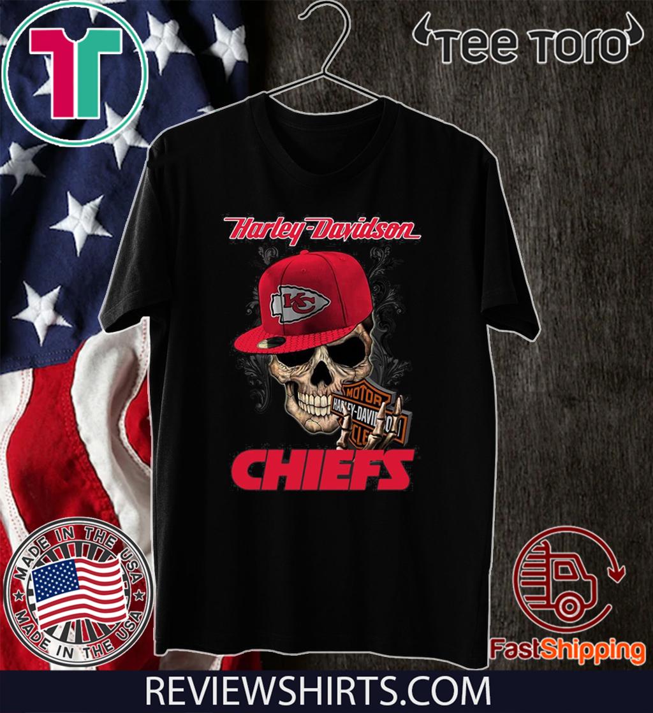 Harley Davidson Chiefs 2020 T-Shirt