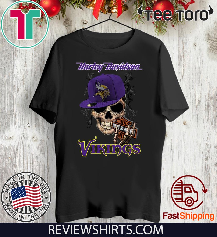 Harley Davidson Vikings For T-Shirt