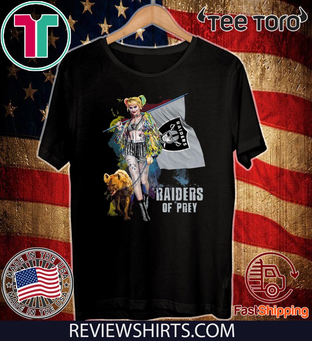 Harley Quinn Oakland Raiders Of Prey 2020 T-Shirt