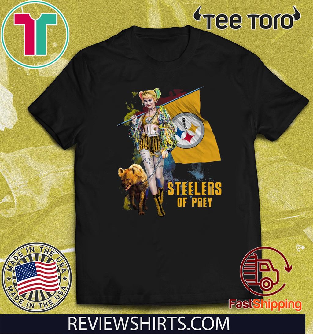 Harley Quinn Pittsburgh Steelers Of Prey 2020 T-Shirt