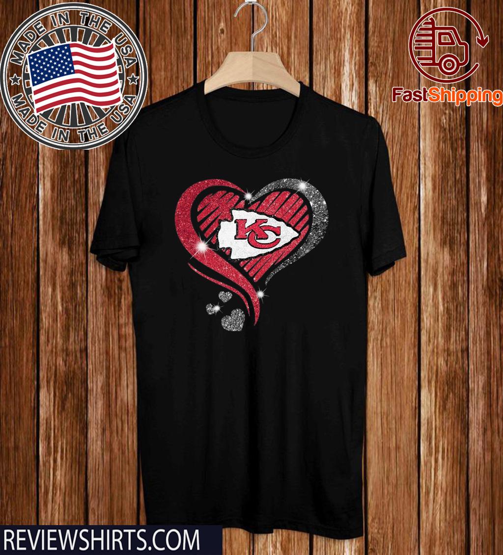 Heart Diamond Kansas City Chiefs Super Bowl Champions Limited Edition T-Shirt