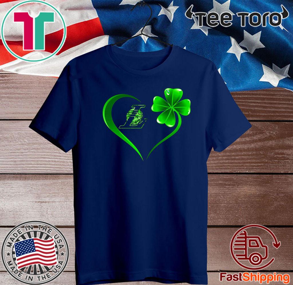 Heart Irish Los Angeles Laker T-Shirt