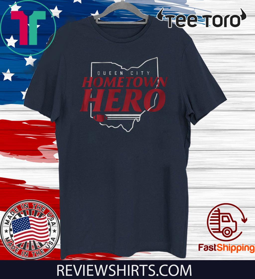 Hometown Hero Cincinnati Football Tee Shirt