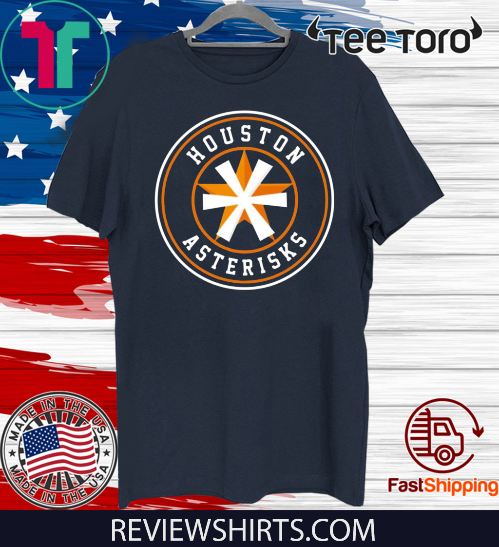 Houston Asterisks Astros Cheaters T-Shirt