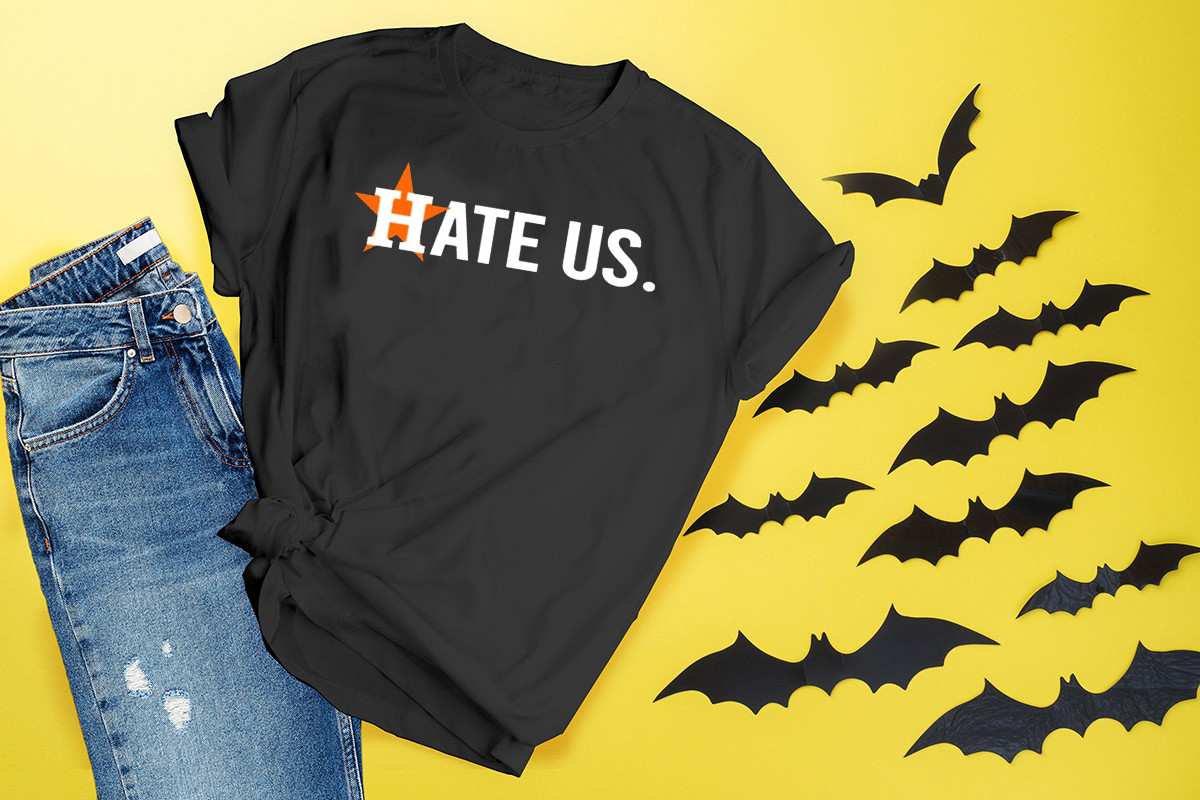 Houston Astros Hate Us Astros Tee Shirts