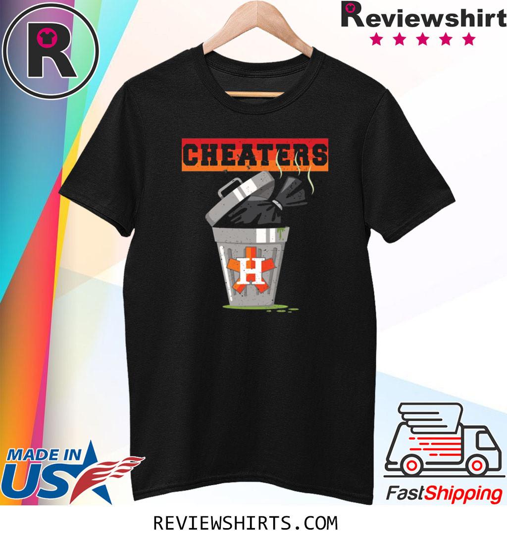 Houston Trashtros Asterisks Cheaters Trash Can Shirt