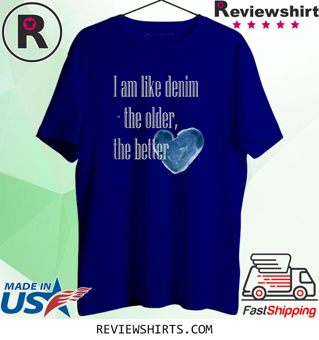I am like denim shirt