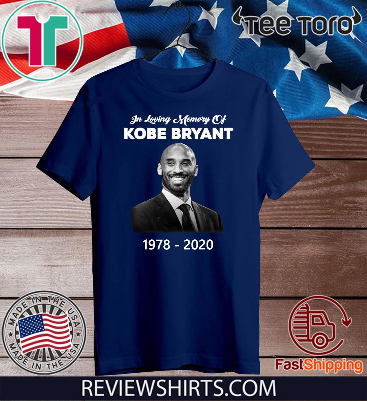 In loving Memory Of Kobe Bryant 1978 – 2020 Shirt