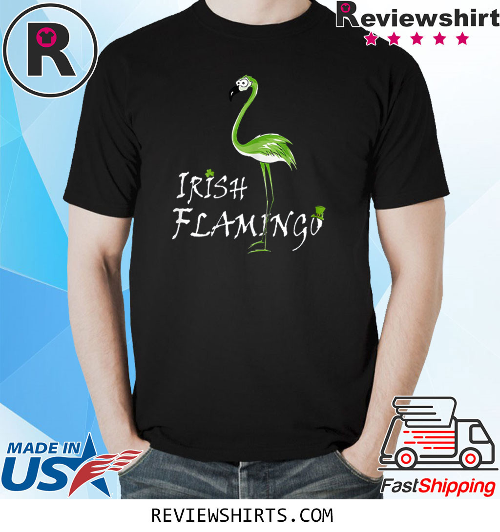 Irish Flamingo Gift Shirt