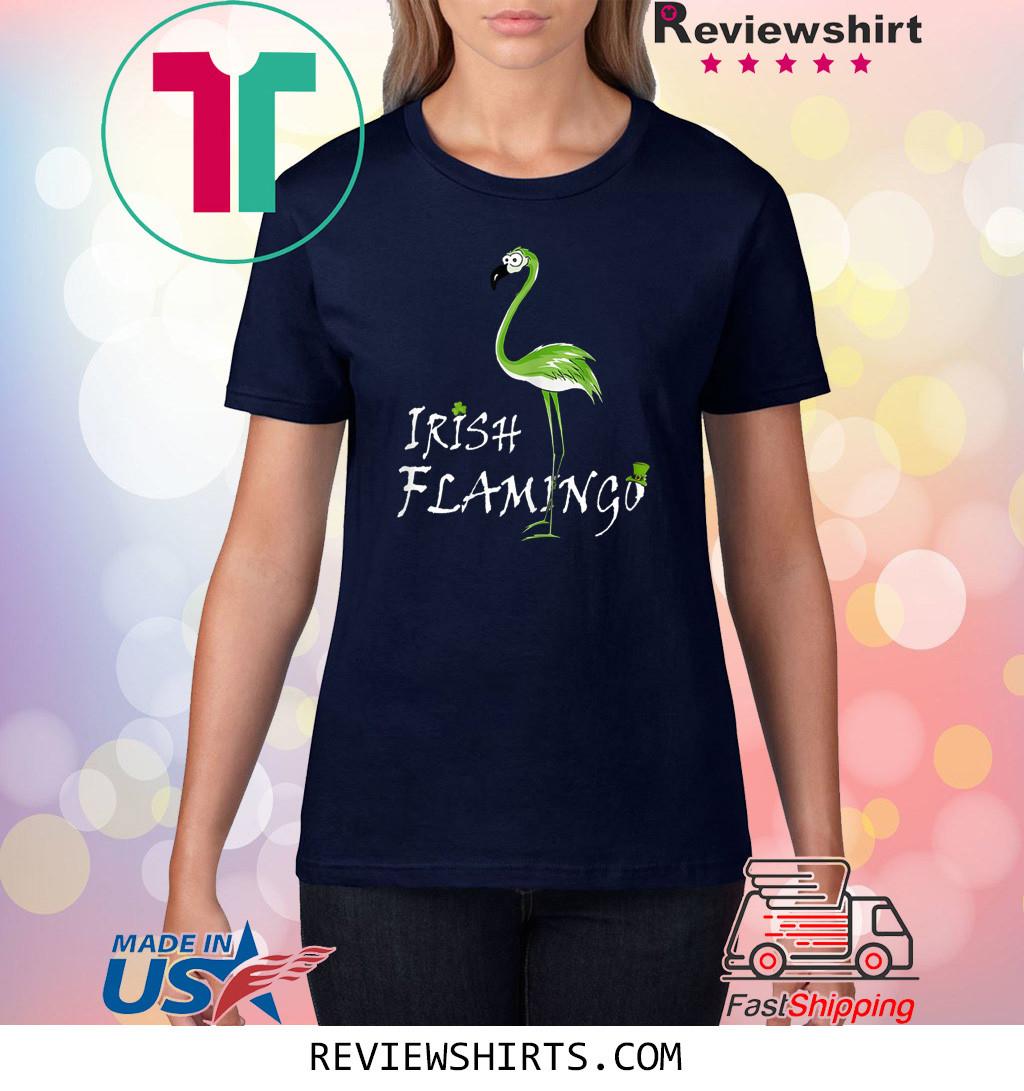 Irish Flamingo Gift Shirt