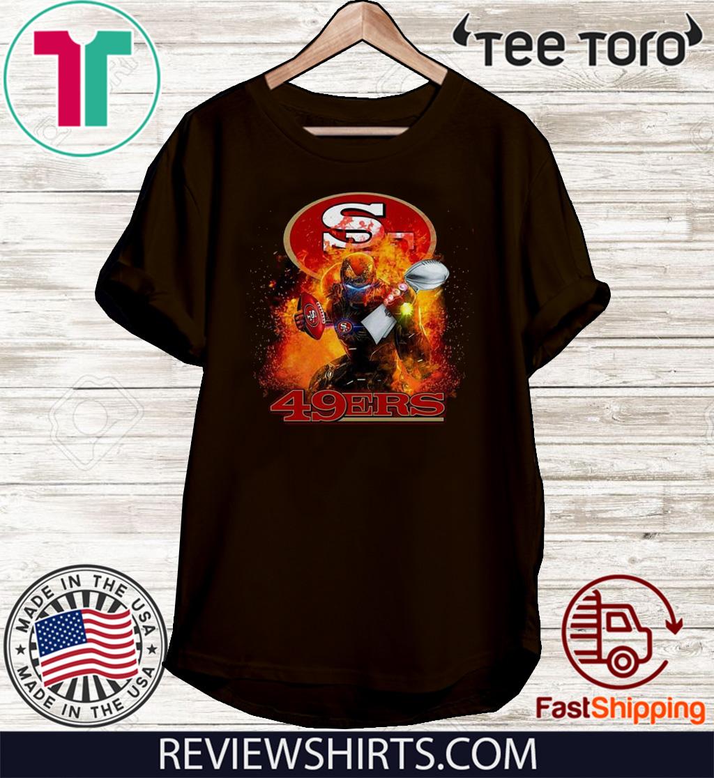 Ironman San Francisco 49ers Super Bowl Champion Original T-Shirt
