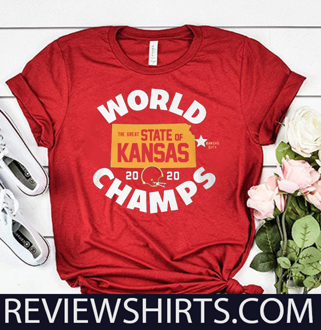 KANSAS WORLD CHAMPS SHIRT - THE GREAT STATE OF KANSAS 2020 TEE SHIRT
