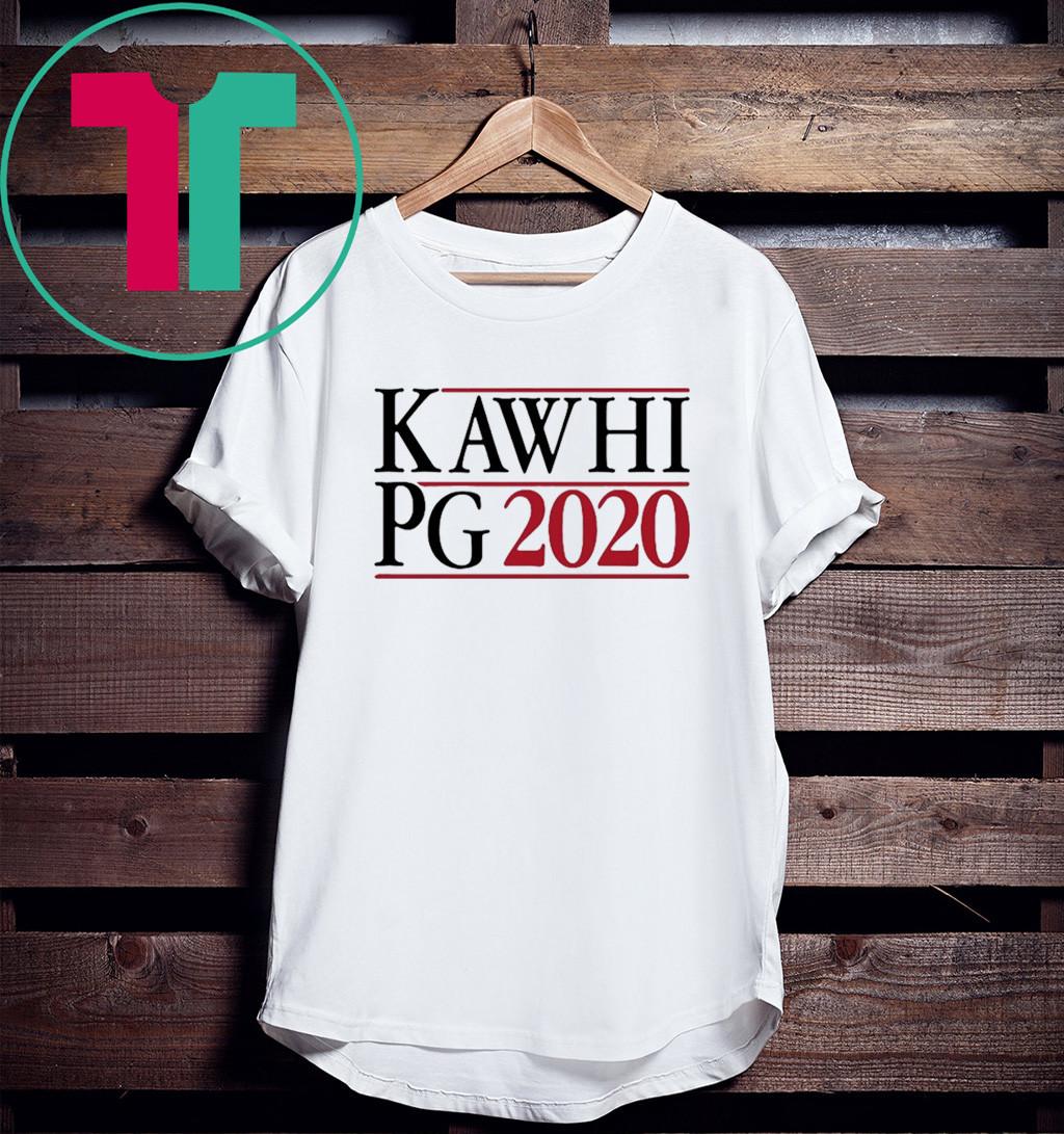 KAWHI LEONARD PAUL GEORGE CAMPAIGN IN 2020 SHIRT