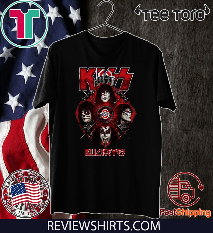 Kiss Band Buckeyes 2020 T-Shirt