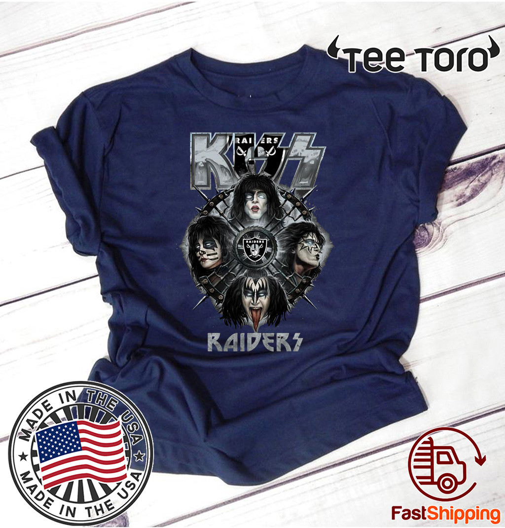 Kiss Band Raiders T Shirt