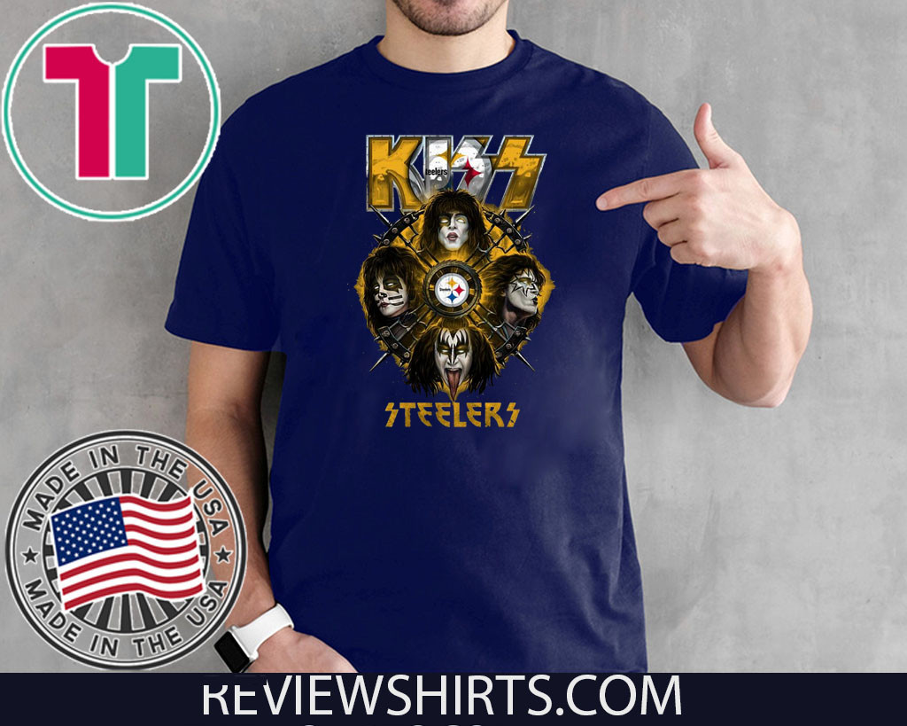 Kiss Band Steelers 2020 T-Shirt
