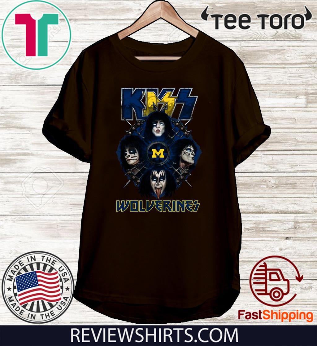 Kiss Band Wolverines 2020 T-Shirt