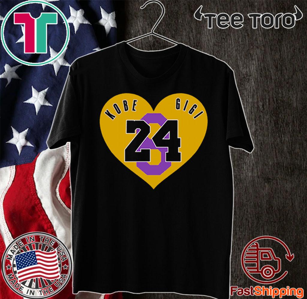 Kobe And Gigi 8 24 Shirt
