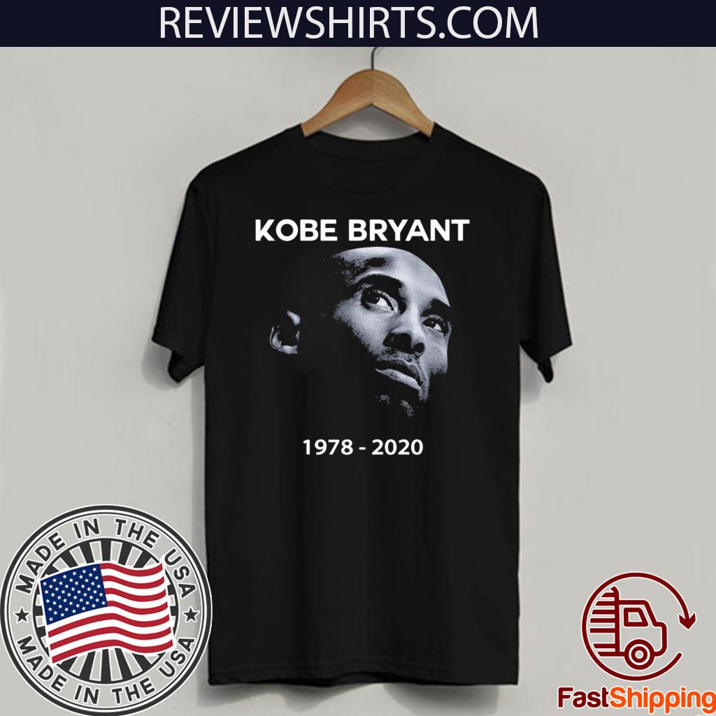Kobe Bryant Rip 1978 – 2020 Face T-Shirt