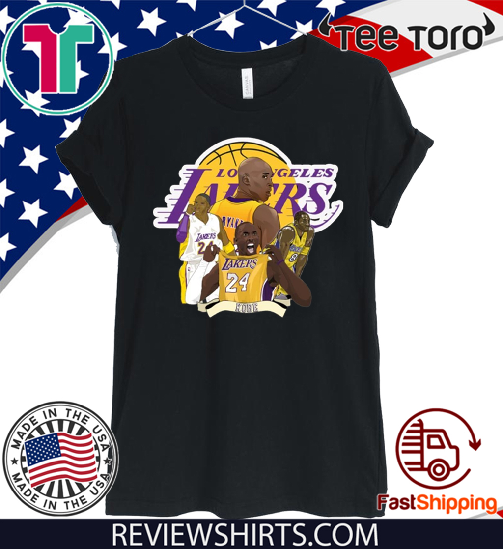 Kobe Bryant Shirt Basketball Legend 2020 T-Shirt
